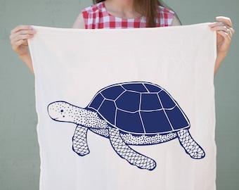 Animal Dishcloths, Sea Turtle Tea Towel, Sea Creature Tea Towels, Sea Turtle Dishcloths, Gift For Sea Lovers, Gift For Her