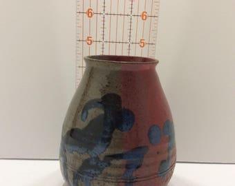 Wheel thrown Stoneware Vase