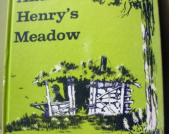 Andrew Henry's Meadow, Doris Burn, Vintage Childrens Book, 1965 Hardcover