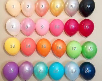 11 Inch Latex Balloons, Pearl Latex, Latex Sets, Custom Color Latex, Pastel Latex, Pastel Balloons, Pearl Balloons, Rainbow Balloons, Latex