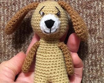 Doggie Crochet Dog Amigurumi Handmade Crochet Amigurumi Toy Dog Crochet Amigurumi Dog Crochet Little doll Crocheted toy Birthday gift
