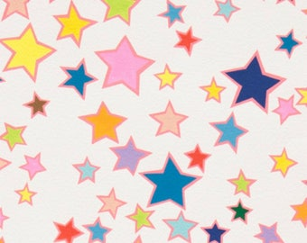 SALE - Alexander Henry - Honky Tonk Stars in Natural Multi
