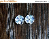 ON SALE Moonstone Matched Pair, Carved Moonstones, Moonstone Jackets, White Gems, Moonstones for Earrings, Moonstone 8mm, Moonstone Flowers