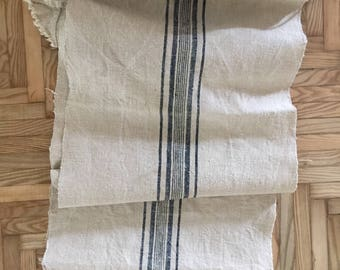 Home loomed vintage European Fabric 265x48cm