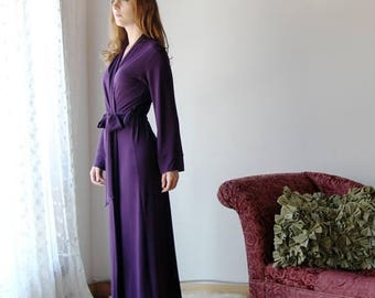 long bamboo robe  - CATHEDRAL - made to order