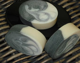 Anise Soap / Black Licorice Soap / Activated Charcoal Soap / Oval Soap / Handmade Cold Process Soap