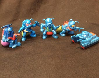 Hasbro Blue Army Ants loose group #1 - 1987