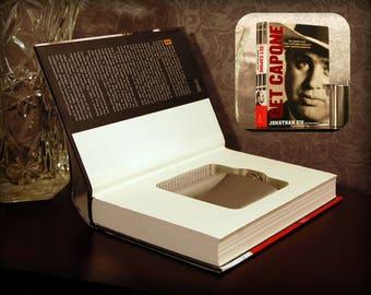 Hollow Book Safe & Flask - Get Capone - Secret Book Safe