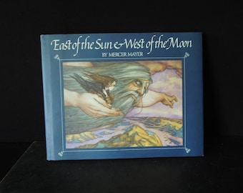 East of the Sun & West of the Moon Children's Book  Hard Cover Dust Jacket - Author Mercer Mayer - Gift for Child Kid
