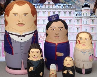 The Grand Budapest Hotel Matyoshka Dolls