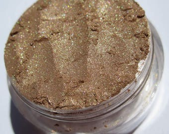 Brown EyeShadow | Golden Shimmer| Vegan Mineral Eye Shadow-Into The Woods