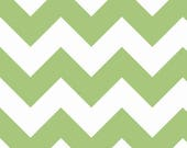 last call Chevron in Green LARGE by Riley Blake Designs 1/2 yard total