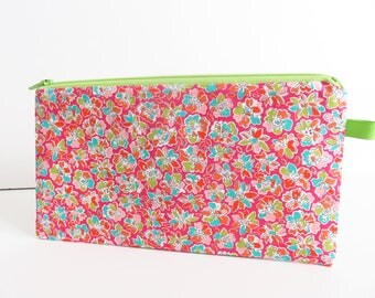 Liberty Lawn 'Amy Hurrul D' zippered pencil case