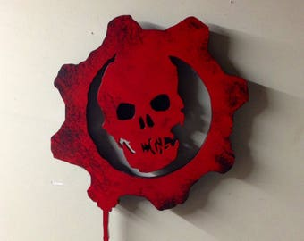 Gears of War Illuminated sign