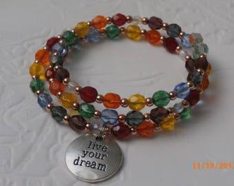 Chakra Wrap Bracelet