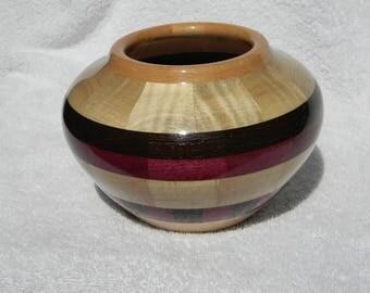 Southwest Inspirations Segmented Wood Bowl