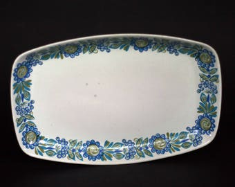 vintage turi platter for viking made in norway