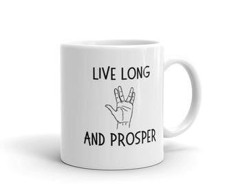 Star Trek: Live Long and Prosper Mug