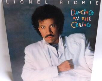 Lionel Richie Dancing on the Ceiling - Vintage Vinyl Record Album 1985 Motown 6158 ML NM/NM