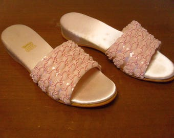 Vintage 1950's/1960's  Daniel Green Slippers