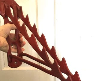 Cool Antique Iron Wall Mount Rack