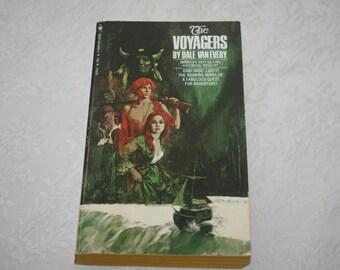 "Vintage Paperback "" The Voyagers "" by Dale Van Every 1971 Untamed America 1788 Adventure Novel"