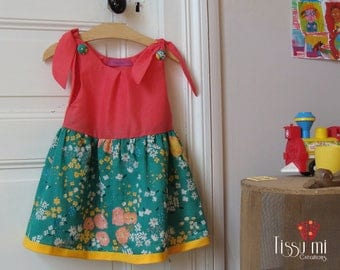 Bucolic small Tissumi party dress