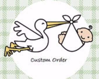 Custom order for Jamie Lantz