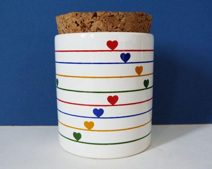 Vintage Waechtersbach sugar / jam pot