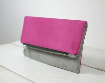 Custom clutch RESERVED for Jill