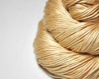 Knocking softly on heaven's door OOAK - Silk/Cashmere Fingering Yarn