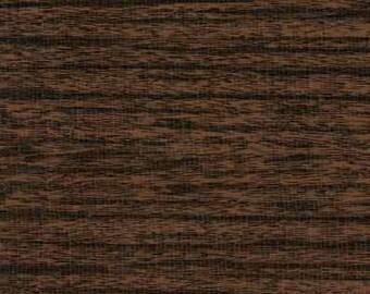 Faux Bois Dark Walnut Oilcloth Yardage