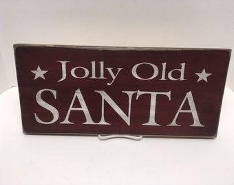 Jolly Old Santa