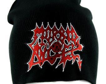 Morbid Angel Death Metal Beanie Alternative Clothing Knit Cap Heavy Music - YDS-PA-2429-BEANIE