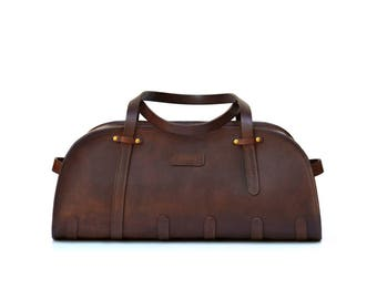 Sports Bag // Leather Holdall // Leather Duffel // DE BRUIR