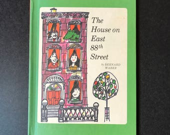 The House on East 88th Street by Bernard Waber, Lyle the Crocodile story , Vintage 1962 Children's Book