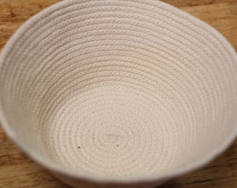 Ready Made Natural Rope Coiled Basket