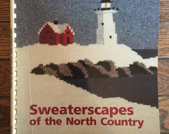 Vintage 1991 Sweaterscapes of the North Country Lynne and Douglas Barr