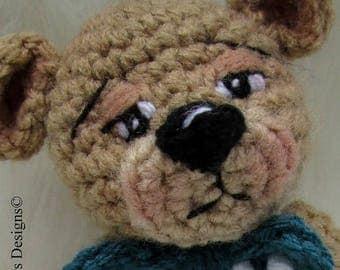 Summer Sale Crochet Pattern Little Bear by Teri Crews instant download PDF format