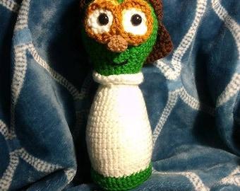 Crochet Veggietale's Annie