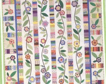 FLOWERING VINES Quilt Pattern - Uncut - Q104