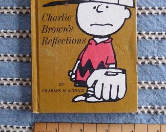 Charlie Brown's Reflections Charlie Brown 1st ed  1967 PEANUTS Hardcover Hallmark Book Charles Schultz Hallmark