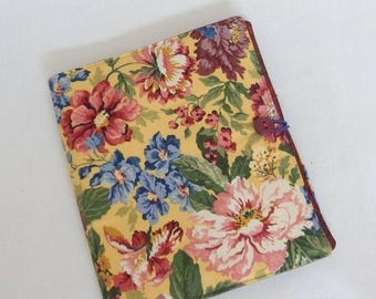 On Sale Day Planner Organizer Fabric Planner Cover Notebook Cover Journal Cover Pockets Handmade Button Closure