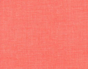 Timeless Treasures Screen Texture - Coral