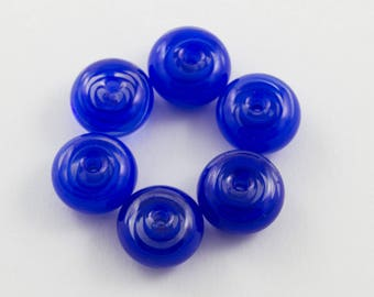 Dark Blue Pinwheel Spacers