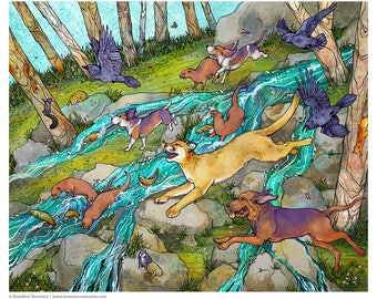 Wild Parade // 16x20 Print