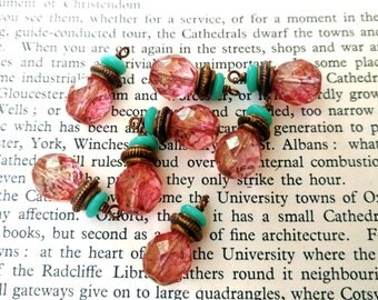 Czech Glass Baubles Instant Earrings Relic Charm