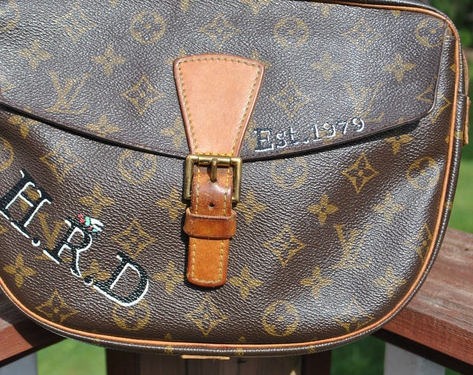 New Custom Hand Painted LV Bag - sold Customer supplied the bag