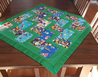 Super Mario Brothers Baby Quilt