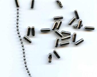 Silver Ball Chain Clasps for 3.2 ball chain